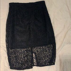 Keepsake the label lace skirt size S